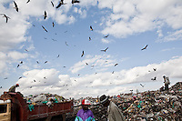 Dandora dump site in Nairobi, Kenya.