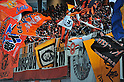 S-Pulse fans, MARCH 10, 2012 - Football /Soccer : 2012 J.LEAGUE Division 1 ,1st sec match between Nagoya Grampus 1-0 Shimizu S-Pulse at Toyota Stadium, Aichi, Japan. (Photo by Jun Tsukida/AFLO SPORT) [0003]