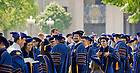 May 19, 2012; The Law School diploma ceremony at the Hesburgh Library reflecting pool...Photo by Matt Cashore/University of Notre Dame