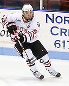 Wade MacLeod (Northeastern - 19) - The Northeastern University Huskies defeated the visiting Boston College Eagles 2-1 on Saturday, February 19, 2011, at Matthews Arena in Boston, Massachusetts.