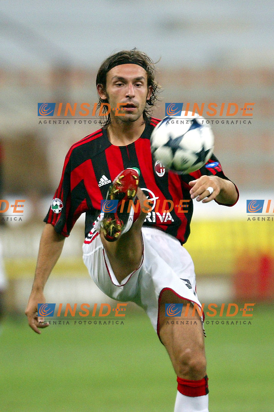 Milano 17/8/2003<br /> Trofeo Berlusconi<br /> Milan - Juventus 0-2<br /> Andrea Pirlo (Milan) <br /> Foto Andrea Staccioli Insidefoto