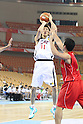 Tomoo Amino (JPN), SEPTEMBER 15, 2011 - Basketball : 26th FIBA Asia Championship Preliminary round Group C match between Japan 81-59 Indonesia at Wuhan Sports Center in Wuhan, China. (Photo by Yoshio Kato/AFLO)