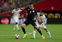 Glendale, AZ - June 25, 2016: The U.S. Men's National team are defeated by Colombia 1-0 to take Fourth Place in the 2016 Copa America Centenario at University of Phoenix Stadium.
