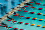 Start of the Semifinal of mens 200m freestyle, Olympic Games, Athens, Greece, August 23, 2004
