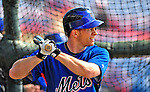 4 March 2009: New York Mets' second baseman Andy Green takes batting practice prior to a Spring Training game against the Washington Nationals at Space Coast Stadium in Viera, Florida. The Nationals rallied to defeat the Mets 6-4 . Mandatory Photo Credit: Ed Wolfstein Photo