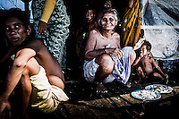 Bajau family on Omadal Island