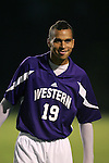Western Illinois's Nowaf Jaman, of Kuwait, on. Tuesday, October 11th, 2005 at Duke University's Koskinen Stadium in Durham, North Carolina. The Duke University Blue Devils defeated the Western Illinois Leathernecks 2-0 during an NCAA Division I Men's Soccer game.