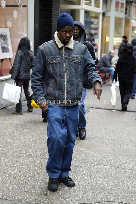 "Chris Rock was out and about, shopping in New York City. He visited Soho art gallery ""Morrison Hotel"" where he purchased a 70's photograph of Richard Prior. November 11 2003. Please byline: NY Photo Press.   ..*PAY-PER-USE*      ....NY Photo Press:  ..phone (646) 267-6913;   ..e-mail: info@nyphotopress.com"