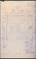 BNPS.co.uk (01202 558833)<br /> Pic: PropStore/BNPS<br /> <br /> Star Wars - Ep IV - A New Hope: R2-D2 Front Elevation Blueprint.<br /> <br /> Fascinating blueprints from the early Star Wars and Star Trek films have been unearthed.<br /> <br /> An auction house is selling a selection of blueprints which include front elevations of R2-D2, interior and exterior set renderings of the Millennium Falcon and front, side and bottom views of the USS Enterprise as well as USS Enterprise set plans.<br /> <br /> The blueprints - many of which have never before been seen by the public - provide a unique insight to fans of the iconic films about how they were made.