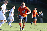 10 November 2010: Virginia's Will Bates. The University of Virginia Cavaliers defeated the Wake Forest University Demon Deacons 1-0 at Koka Booth Stadium at WakeMed Soccer Park in Cary, North Carolina in an ACC Men's Soccer Tournament Quarterfinal game.