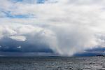 Picnic Rocks, Marquette Mi, snow squalls, Lake Superior