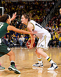 The University of Michigan women's basketball team beat Michigan State, 70-69, at Crisler Center in Ann Arbor, Mich., on February 16, 2013.