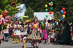Summer Solstice Parade on Orcas Island, Washington