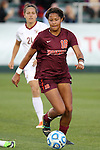 10 November 2013: Virginia Tech's Candace Cephers. The Florida State University Seminoles played the Virginia Tech Hokies at WakeMed Stadium in Cary, North Carolina in a 2013 NCAA Division I Women's Soccer match and the championship game of the Atlantic Coast Conference tournament. Florida State won the game 1-0.