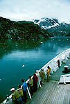 AK: Glacier Bay National Park, Alaska, Margerie Glacier    .Photo Copyright: Lee Foster, lee@fostertravel.com, www.fostertravel.com, (510) 549-2202.Image: akglac215