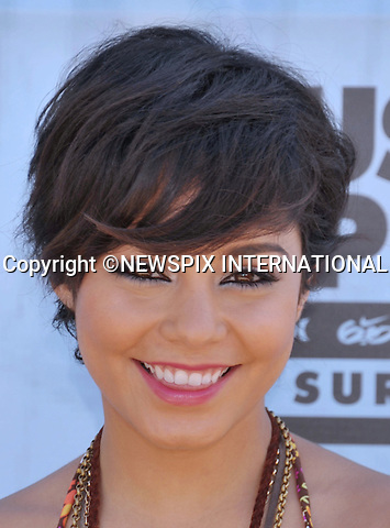 """VANESSA HUDGENS.attends the Hurley Walk The Walk 2011 National Championship held at Huntington Beach Pier, Huntington Beach, California_04/08/2011.Mandatory Photo Credit: ©Crosby/Newspix International. .**ALL FEES PAYABLE TO: """"NEWSPIX INTERNATIONAL""""**..PHOTO CREDIT MANDATORY!!: NEWSPIX INTERNATIONAL(Failure to credit will incur a surcharge of 100% of reproduction fees).IMMEDIATE CONFIRMATION OF USAGE REQUIRED:.Newspix International, 31 Chinnery Hill, Bishop's Stortford, ENGLAND CM23 3PS.Tel:+441279 324672  ; Fax: +441279656877.Mobile:  0777568 1153.e-mail: info@newspixinternational.co.uk"""