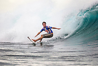 Dane Reynolds (USA) surfing at Restaurants during the Trials for the 2004 Quiksilver Pro Fiji Photo: joliphotos Photo: Joliphotos