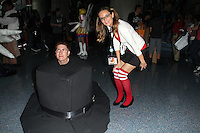 Jessica Kinni and cosplayer<br /> at Anime Expo 2014 Day 2, Los Angeles Convention Center, Los Angeles, CA 07-04-14<br /> David Edwards/DailyCeleb.com 818-249-4998