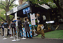 November 5th, 2011 : Tokyo, Japan -Visitors can try Sony's newly promoted Personal 3D Viewer HMZ-T1 at Royal Garden Cafe in Tokyo, from November 4th to 5th. They announced HMZ-T1 would be on sale from November 11th, 2011. (Photo by Yumeto Yamazaki/AFLO)