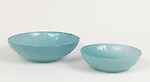 Emiliano Godoy (Mexican, b. 1974), manufactured by Nouvel Studio (Mexico City, Mexico, founded 1994); Pedro and Pablo bowls, 2012; Blown glass; Pedro bowl: 10.2 x 36 cm (4 x 14 1/5 in.), Pablo bowl: 8 x 27.5 cm diam. (3 1/10 x 10 4/5 in.)