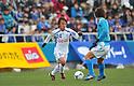 Yuki Horigome (Ventforet),.MARCH 25, 2012 - Football /Soccer : 2012 J.LEAGUE Division 2 ,5th sec match between Yokohama FC 0-2 Ventforet Kofu at NHK Spring Mitsuzawa Football Stadium, Kanagawa, Japan. (Photo by Jun Tsukida/AFLO SPORT) [0003].