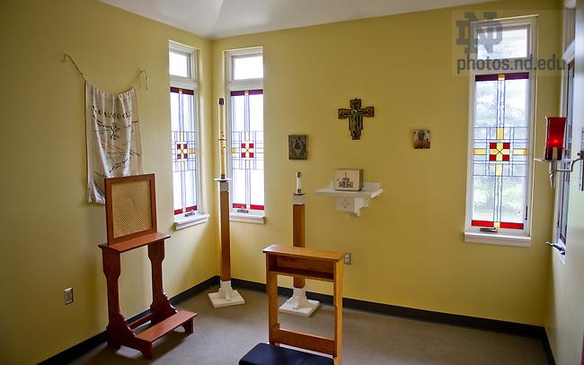 Apr. 15, 2012; Chapel at the University Village Community Center..Photo by Matt Cashore/University of Notre Dame