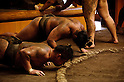 Sumo Wrestlers Training