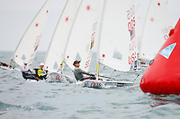 20111208, Perth, Australia: PERTH 2011 ISAF SAILING WORLD CHAMPIONSHIPS - 1200 sailors from 79 countries compete to qualify their nation for the 2012 Olympics. Laser Radial Class. Paige RAILEY (USA).  Photo: Mick Anderson/SAILINGPIX.DK