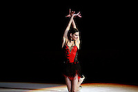 """Tamara Yerofeeva of Ukraine performs gala exhibition at 2007 World Cup Kiev, """"Deriugina Cup"""" in Kiev, Ukraine on March 16, 2007. After great career competing for Ukraine, Tamara performed for Cirque du Soleil for 2-years from 2004-2006."""