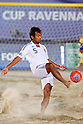 Teruki Tabata (JPN), AUGUST 28, 2011 - Beach Soccer : Crescentini Trophy match between Italy 1-2 Japan at Stadio del Mare in Marina di Ravenna, Italy, (Photo by Enrico Calderoni/AFLO SPORT) [0391]