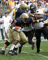 08 September 2007: Pitt running back LeSean McCoy..The Pitt Panthers defeated the Grambling State Tigers 34-10 on September 08, 2007 at Heinz Field, Pittsburgh, Pennsylvania.