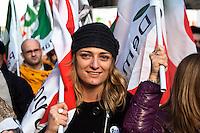 Roma  11 Dicembre 2010.Manifestazione Nazionale del Partito Democratico  contro il Govermo Berlusconi..Demonstration  by the Italian main opposition Democratic Party (PD) against Italian prime minister Silvio Berlusconi's government.