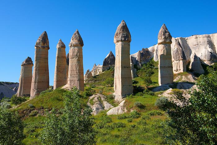The Fairy Chimneys of Love Valley - Cappadocia Turkey