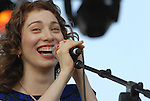 Regina Spektor performs to an ecstatic crowd at the Austin City Limits 2007, September 16, 2007