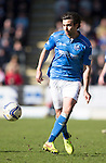 St Johnstone v Dundee....11.04.15   SPFL<br /> Simon Lappin<br /> Picture by Graeme Hart.<br /> Copyright Perthshire Picture Agency<br /> Tel: 01738 623350  Mobile: 07990 594431