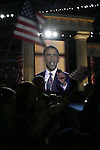 Democratic National Convention, 2008: Senator Barack Obama (D-Illinois) accepts the Democratic Party's nomination to be its 2008 Presidential candidate. Invesco Mile High Stadium, Denver, Colorado, August 28, 2008.