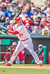 2 March 2013: St. Louis Cardinals third baseman David Freese stands at bat during a Spring Training game against the Washington Nationals at Roger Dean Stadium in Jupiter, Florida. The Nationals defeated the Cardinals 6-2 in their first meeting since the NLDS series in October of 2012. Mandatory Credit: Ed Wolfstein Photo *** RAW (NEF) Image File Available ***