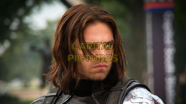 Sebastian Stan<br /> in Captain America: The Winter Soldier (2014) <br /> *Filmstill - Editorial Use Only*<br /> CAP/NFS<br /> Image supplied by Capital Pictures