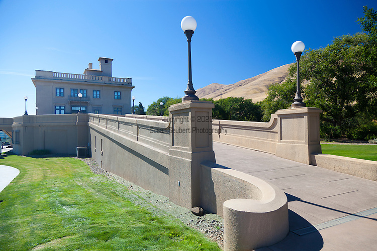The Maryhill Museum of Art is a small museum with an eclectic collection, near Maryhill in the U.S. state of Washington.<br /> The structure was built as a mansion by entrepreneur Samuel Hill. The museum is on a bluff overlooking the Columbia River Gorge.  The new Mary and Bruce Stevenson Wing opened in the spring of 2012 and is the museum's first expansion since its original construction in 1940.