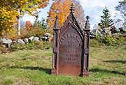 New England Graveyards
