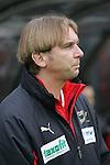 Sandhausen 19.04.2008, Gerd Dais (Trainer SV Sandhausen) in der Regionalliga S&uuml;d 2007/08 SV Sandhausen 1916 - FC Ingolstadt 04<br /> <br /> Foto &copy; Rhein-Neckar-Picture *** Foto ist honorarpflichtig! *** Auf Anfrage in h&ouml;herer Qualit&auml;t/Aufl&ouml;sung. Belegexemplar erbeten.