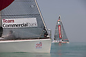 Sailing Arabia The Tour 2012. Leg 4  race start, Ras Al Khaimah - Dibba. Oman.Credit: Lloyd Images
