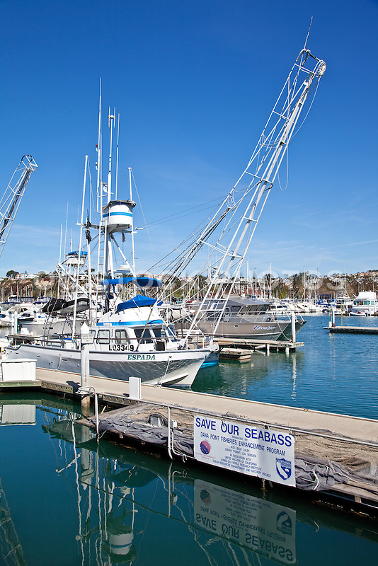 Boats in dana point harbor socal stock photos oc stock for Dana point harbor fishing