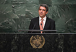 Address by His Excellency Rosen Plevneliev, President of the Republic of Bulgaria