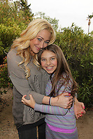 Jennifer Blanc and Caitlin Carmichael<br />
