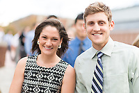Danielle Leahy, left, Troy Larson. Class of 2017 White Coat Ceremony.