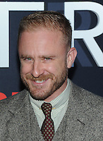 NEW YORK, NY - OCTOBER 4: Ben Foster at 'The Girl On The Train' Premiere at Regal E-Walk on October 4, 2016 in New York City. Credit: John Palmer/MediaPunch