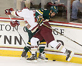 Patrick Brown (BC - 23), Drew MacKenzie (Vermont - 2) - The Boston College Eagles defeated the visiting University of Vermont Catamounts 6-0 on Sunday, November 28, 2010, at Conte Forum in Chestnut Hill, Massachusetts.