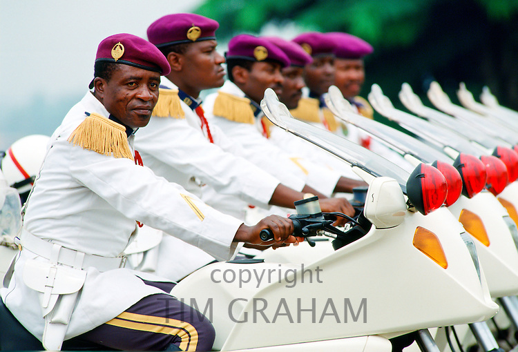 Soldiers in Cameroon.