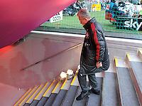 FUSSBALL   1. BUNDESLIGA  SAISON 2011/2012   31. Spieltag FC Bayern Muenchen - FSV Mainz 05       14.04.2012 Trainer Jupp Heynckes  (FC Bayern Muenchen)